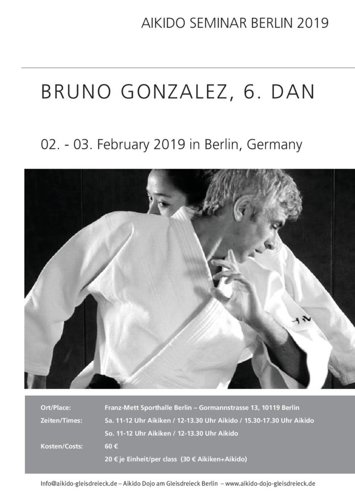 Bruno Gonzalez 6 Dan Berlin 02-03.02.2019 @ Berlin