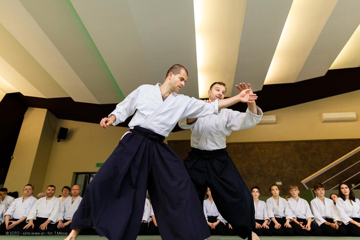 Letni Obóz Aikido - Tomasz Sowiński 5 Dan