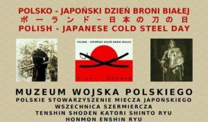 IV Polsko-Japoński Otwarty Dzień Broni Białej @ Al. Jerozolimskie 3 | Warszawa | mazowieckie | Polska