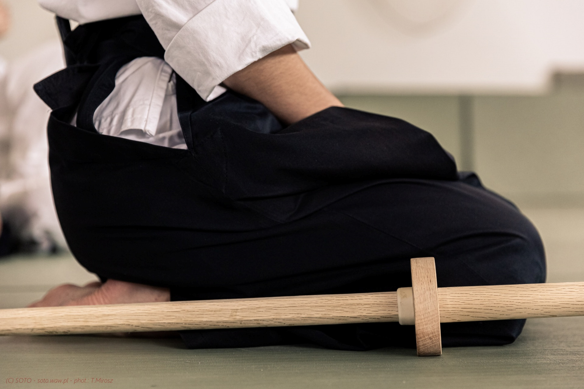 Problemy z kolanami w Aikido